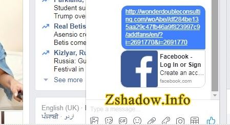 Z Shadow Facebook Hacking
