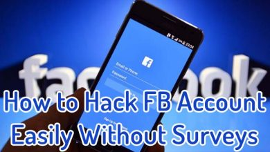 How to Hack FB Account Easily Without Surveys with Z Shadow